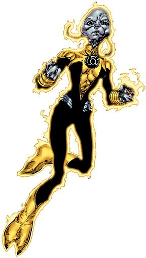 Sinestro Puts On Yellow Ring